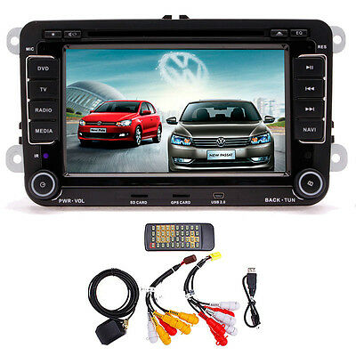 "Car GPS Touchscreen Bluetooth 7""LCD DVD Player for Volkswagen VW GPS MAP NAVI"