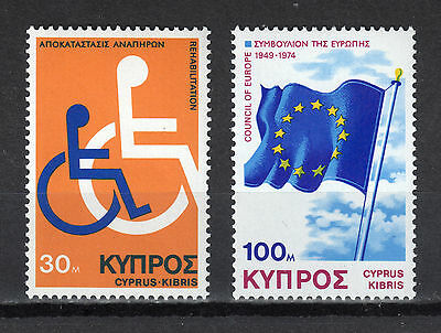 Cyprus 1975 Anniversaries And Events I Mnh