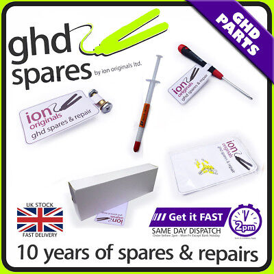 Ghd Repair Kit Choose Pcb Screwdriver, Pcb Hoops, Hinge Pin Thermal Paste&screws
