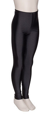 Girls Childrens Lycra Shiny Footless Dance Gym Ballet Leggings By Katz KDT002