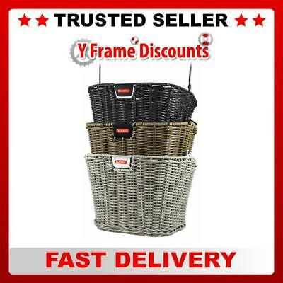 Rixen & Kaul Structura Retro 16L Front Basket without KF850 Adapter