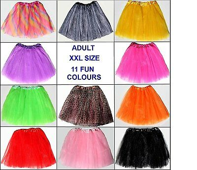 Zebra  Adult plus size tutu xl-xxl Hens night/ Parties /Events Quality 3 layers