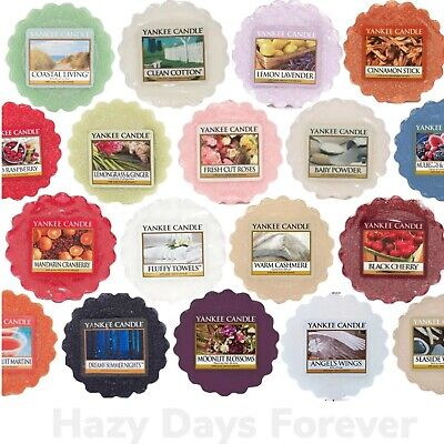 YANKEE CANDLE Wax Tarts Melts BUY ANY 10+ GET FREE P&P- Mix and Match