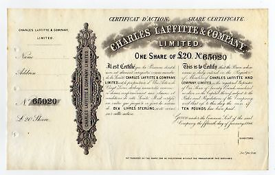 1866 Charles Laffitte & Company Limited - Great Britain