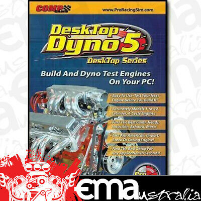 Comp Cams Desktop Dyno 5 Pro Racing/engine Simulation Cd Rom Co 186011