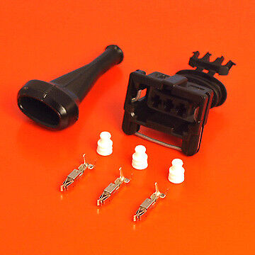 Genuine AMP/TYCO 3 Way Junior Power Timer With Terminals Boot and Cable Seals