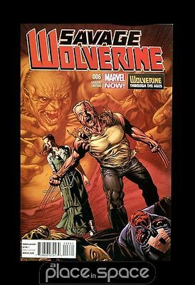 Savage Wolverine # 6 (1:20) Perkins Variant - Marvel Now
