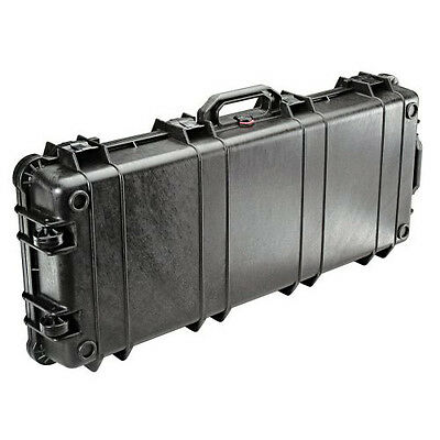 Pelican 1700 Watertight Gun Case with Foam Insert & Wheels - Black