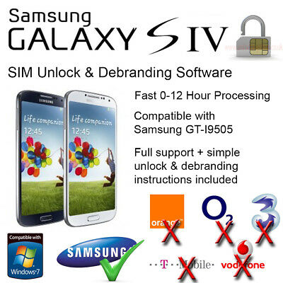 Samsung Galaxy S4 (GT-I9505) SIM Unlock and Debranding Software
