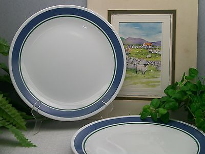 Lot of 4 Corelle Corning Ware JENNIE Dinner Plates  EXCELLENT