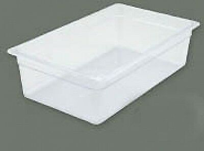 "Winco SP7104 6pcs. Polycarbonate Food Storage Pans 20.75""x12.8""x4""H"