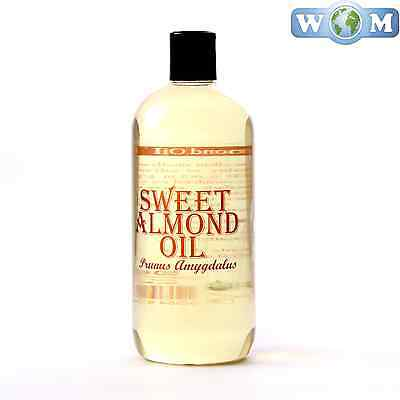 Sweet Almond Carrier Oil 100% Pure 500ml (OV500ALMOSWEE)