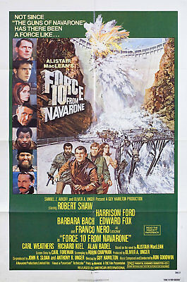 Force 10 from Navarone 1978 U.S. One Sheet Poster