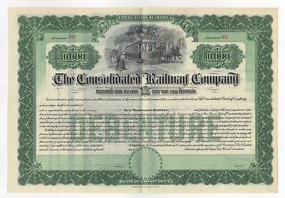 The Consolidated Railway Company Bond