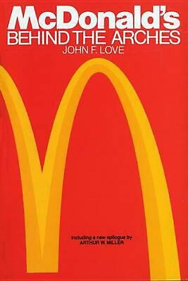 McDonald's: Behind the Arches by John F. Love Paperback Book (English)