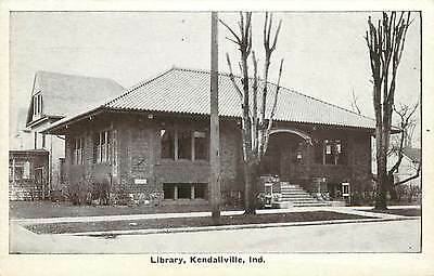 IN-KENDALLVILLE-LIBRARY-TOWN VIEW-K93677