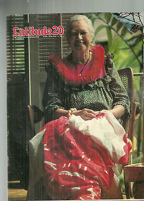April 1978 Latitude 20 Magazine Hawaiian Air