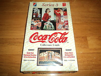 Coca Cola Coke Series 3 Trading Card Box