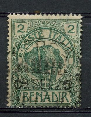 Somalia 1906-16 SG#11, 5c On 2b Elephant Used #A41896