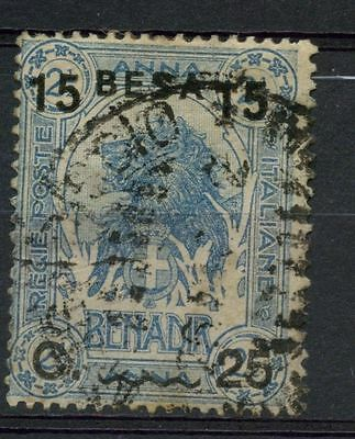 Somalia 1922 SG#26 15b On 25c On 2.5a Elephant Used #A41904