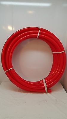 "250' 1/2"" RED Non Oxygen Barrier PEX tubing for heating and plumbing"