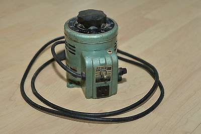 STACO INC ADJUST A Volt 0-140v Type 3PN 500B Green Vintage Standard  Electrical