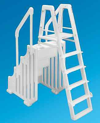"""Ocean Blue 30"""" Mighty Step & Ladder Set Aboveground Swimming Pool Entry System"""