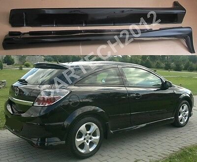 Vauxhall Opel Astra H 3doors Mk5 Side Skirts, tuning