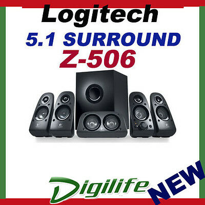 Logitech Z506 5.1 Surround Sound 3D Stereo Speakers