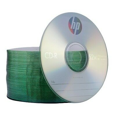 HP 52x 700MB 80-Minute CD-R Media 50-Piece Spindle CD