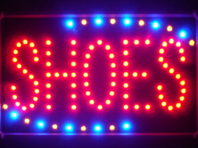 led089-r Shoes Led Neon Sign WhiteBoard