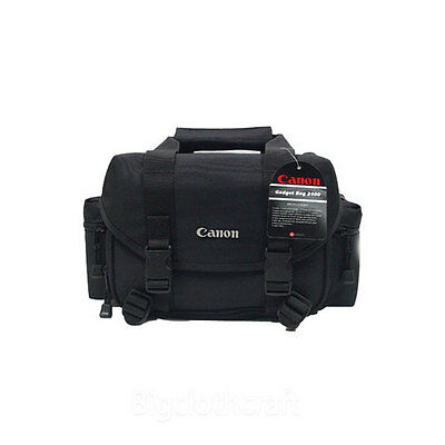 New Genuine Canon Gadget Bag 2400/9361 Camera Shoulder bag Case for DSR DSLR