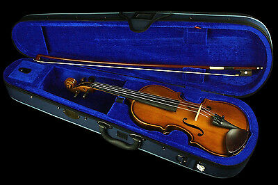 STENTOR - Student I 1/8 Size Violin Outfit *NEW* 1, wood bow, case, warranty