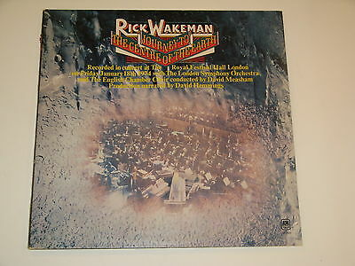 RICK WAKEMAN journey to the centre of the earth Lp RECORD GATEFOLD CENTER 1974