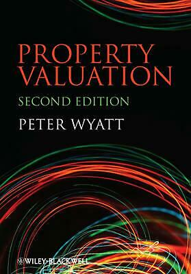 Property Valuation by Peter Wyatt (English) Paperback Book Free Shipping!