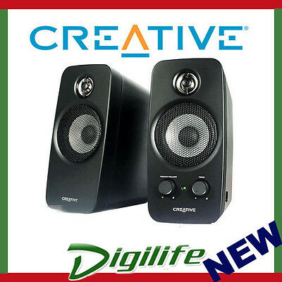 Creative Inspire T10 2.0 Computer Speakers PC TV MP3