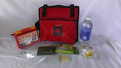 dog backpack Emergency survival and First aid kit.  Made in the U.S.A