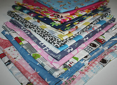 Baby / Kids Bandana / Head Scarf / Bib / Neckerchief  Boys & Girls 14 designs