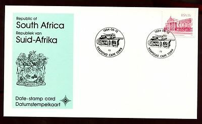 South Africa 1984 Kaapstad, Cape Town, Date Stamp Card #C10105