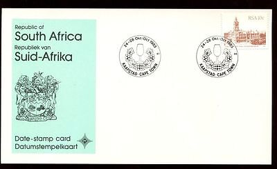 South Africa 1983 Kaapstad Cape Town, Date Stamp Card #C10117