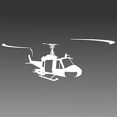 UH1 Helicopter Decal Huey UH 1 Military Chopper Pilot Sticker