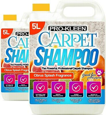 Carpet Cleaning Solution Odour Stain Remover Cleaner Shampoo Compatible With Vax