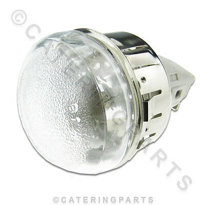 Interior High Temp Oven Ceramic Lamp Light Fitting Glass Lens And Bulb 72Mm Hole