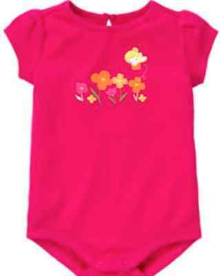 Gymboree Fairy Floral Fairy And Flowers Bodysuit Size 0-3 Months Nwt Baby & Toddler Clothing