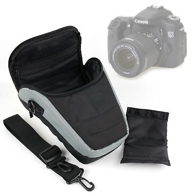 Compact Storage Bag For Canon EOS 70D SLR Camera With Pockets & Soft Interior