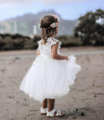 *NEW* LAYLA Flower Girl Birthday Party Tutu Dress