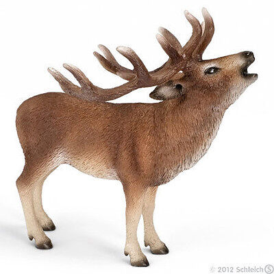 *NEW* SCHLEICH 14647 Red Deer Male Buck Bull - Wild Life
