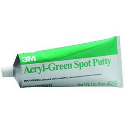 Acryl-Green Spot Putty, 14.5 oz tube 3M-5096 Brand New!