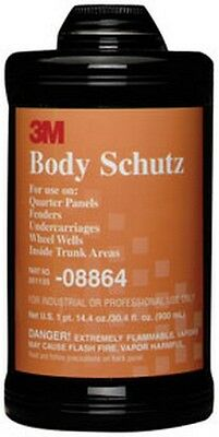 Body Schutz Rubberized Coating 08864 Black, 1 Quart 3M-8864 Brand New!