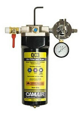 CAMAIR QC3 Desiccant Filter and Dryer Unit DEV-130525 Brand New!